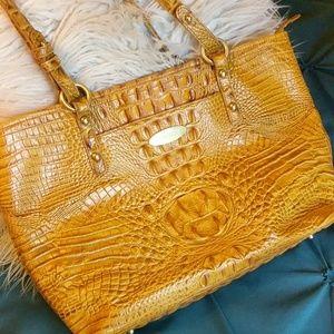 Brahmin Melbourne Handbag Yellow
